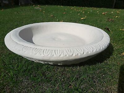 Replacement Bird Bath Bowl (nc) Reconstituted Stone Dish Top Only Garden Ornamen • 49.99£