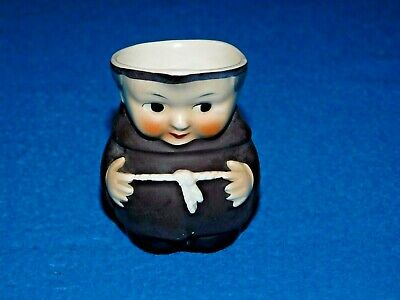 £12 • Buy Small Goebel Brown Monk Character Toby Jug S141 2/0 West Germany Bee In V Mark