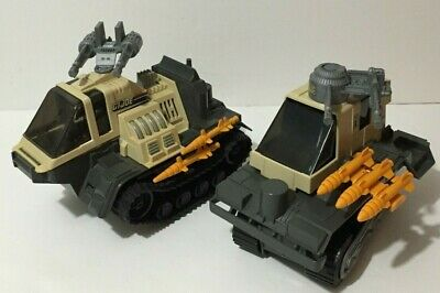 $ CDN60 • Buy Gi Joe Thunderclap Tractor & Trailer Hasbro 1989 Near Complete.