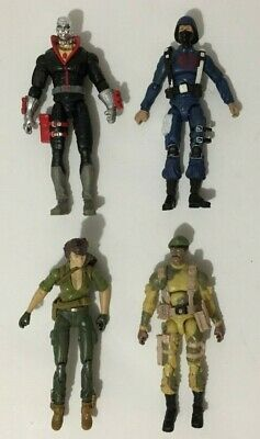 $ CDN60 • Buy Gi Joe 25th Anniversary Battle Pack 4 Figure Lot 2008 Destro, Lady Jaye, Stalker