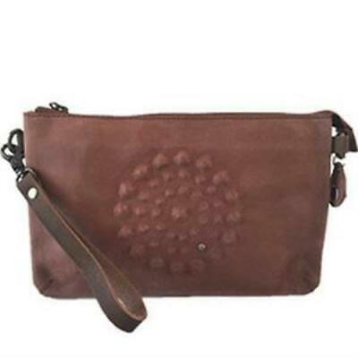 AU149 • Buy NOOSA Amsterdam Divali Artwork Medium Bag Mid Brown