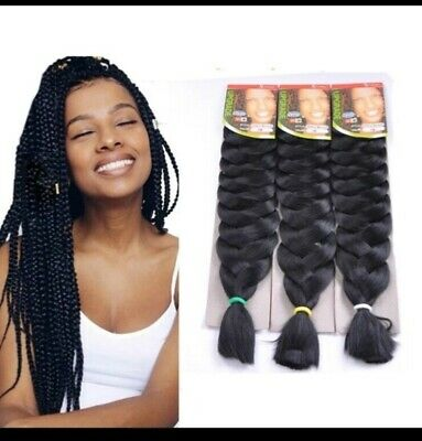 X-PRESSION Xpression Hair Extensions For Braids, Kanekalon 82inches • 4.20£
