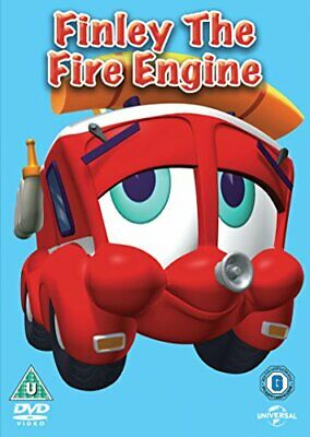 Finley The Fire Engine [DVD] - DVD  4KVG The Cheap Fast Free Post • 3.49£