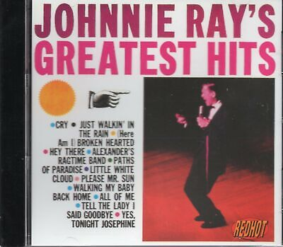 Johnnie Ray - Greatest Hits (1992 CD) New • 2.95£
