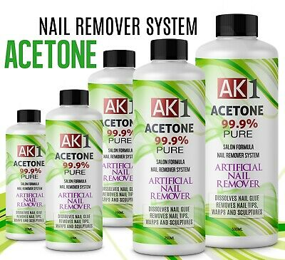 £8.99 • Buy  Nail Varnish Remover Acrylic Nail Remover Pure Acetone 99.9% Pure FAST DELIVERY