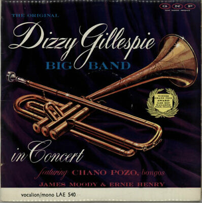 Dizzy Gillespie In Concert Vinyl LP Album Record UK LAE540 VOCALION 1963 • 19.95£
