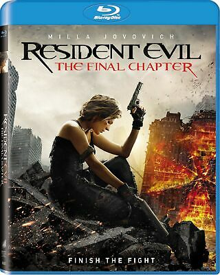 $10.39 • Buy Resident Evil: The Final Chapter [Blu-ray] Milla Jovovich Ruby Rose NEW