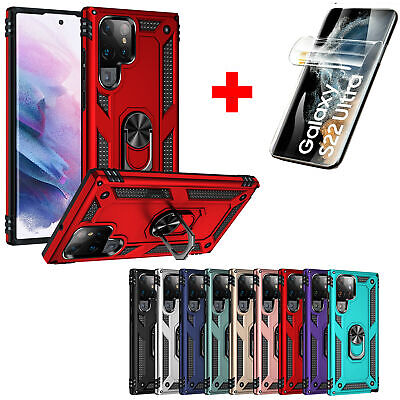 Hard Armor Case Cover For Samsung Galaxy S10e Note 9 10 Lite S20 Plus Ultra FE • 5.63£