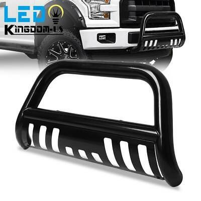 $102 • Buy For 04-20 Ford F-150/03-17 Expedition 3'' Black Skid Plate Bull Bar Bumper Guard