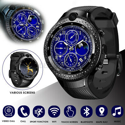 AU278.62 • Buy Zeblaze THOR 4 Dual Bluetooth Smart Watch 16GB 4G 5.0MP Camera For Android IOS