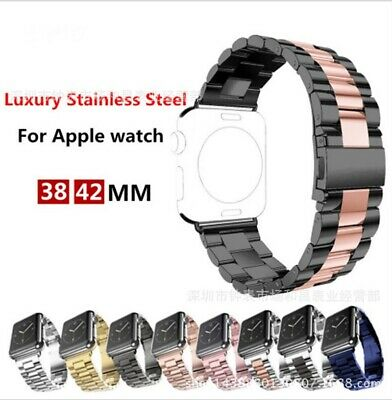AU18.99 • Buy Watch Band Stainless Steel Strap For Apple Watch IWatch Series 5/4/3/2/1/6/se