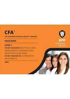 £6.49 • Buy CFA Level 1: Passcards By BPP Learning Media Book The Cheap Fast Free Post