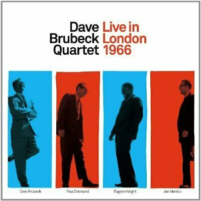 Dave Brubeck - Live In London 1966 - Dave Brubeck CD ZYVG The Cheap Fast Free • 8.63£
