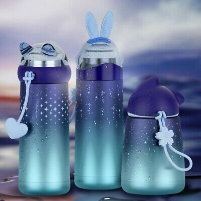 AU54.90 • Buy  New 2020  3x Kids School Thermos Water Bottles Stainless Steel Double Wall