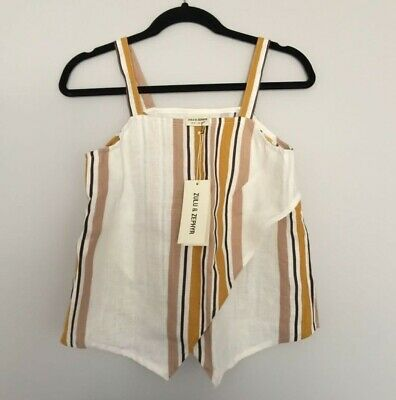 Zulu & Zephyr / Womens Stip Top / Size Aus 8 / Brand New With Tags • 36.64£