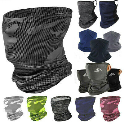 $4.99 • Buy Motorcycle Balaclava Neck Gaiter Bandana Scarf Face Mask Mouth Cover Headwear