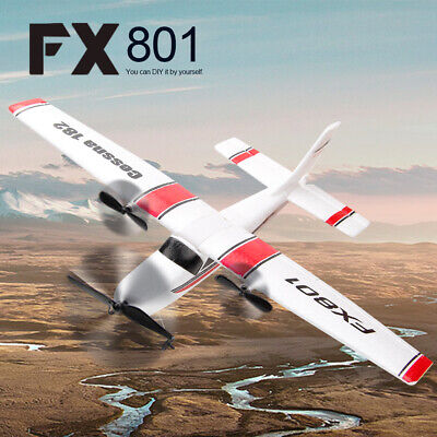 FX801 Cessna 182 2.4GHz 2CH RC Airplane Aircraft Outdoor Flight Toys H8W8 • 27.77£