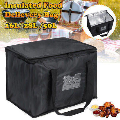 Food Delivery Insulated Bags Pizza Takeaway Thermal Warm/Cold Bag Ruck 3 Sizes  • 13.45£