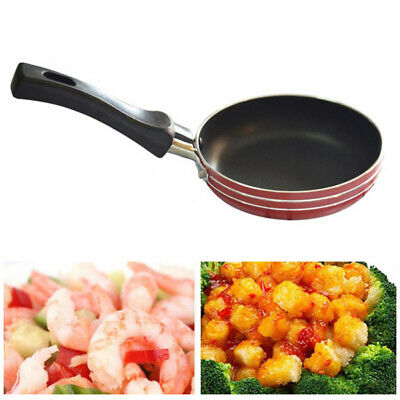 12cm Mini Non Stick Frying Pan Skillet Egg Omelet Pancake Non Stick Frypan Pot • 5.95£