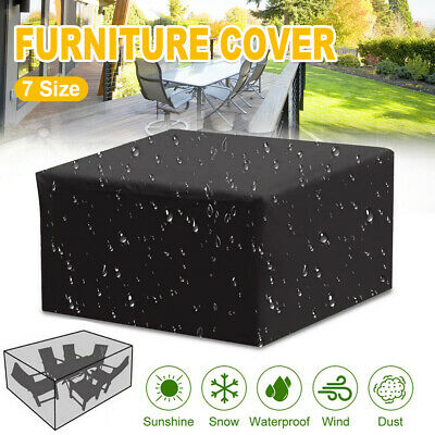 AU19.99 • Buy Waterproof Garden Patio Furniture Cover Rain UV Table Protector Sofa IN/Outdoor