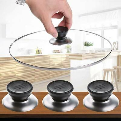 2X Universal Replacement Kitchen Cookware Pot Pan Lid Cover Grip Knob Durable • 3.80£