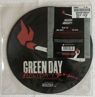 Green Day - Holiday - Picture Disc Single Vinyl.  • 16.99£