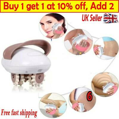 3D Roller Shaping Massager Anti-Cellulite Massaging Pro Muscle Relax TA UK • 11.39£