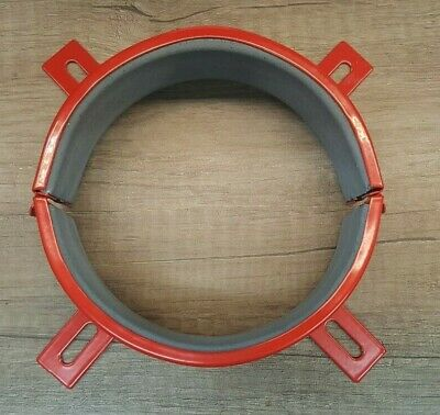 £12.95 • Buy Intumescent Fire Pipe Closer 4  110mm - Up To 4 Hour Rating Red Pipe Collar