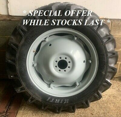 New 12.4-28 Rear Wheels And Tyres To Fit MF And Ford • 420£