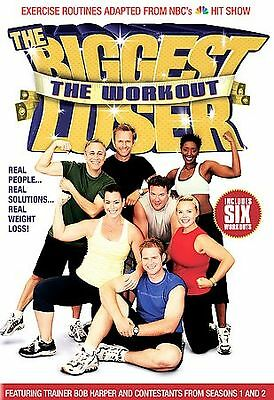 The Biggest Loser The Workout - Bob Harper - Used Dvd Movie Disc • 2.11£