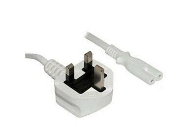 £3.89 • Buy Figure Of 8 Mains Cable / Power UK Lead Plug Cord IEC C7
