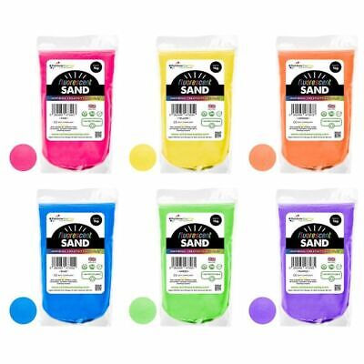 Craft Sand Art Coloured Decorative Sand 26 Colours 100g/485g/1kg Resealable Bag • 2.45£