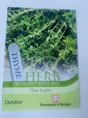 2pack Of Herb Thyme Outdoor 2x 450 Seeds Grow Almost Anywhere • 1.89£
