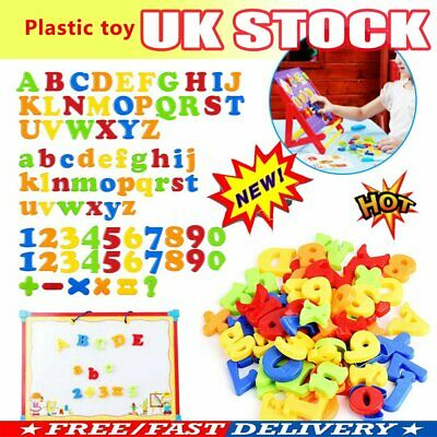 £6.13 • Buy 78PCS Gift Learning Toy Fridge Magnetic Alphabet Letters Magnets Xmas Numbers OR