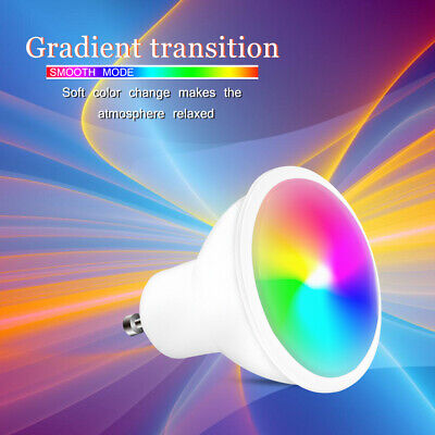 GU10 5W 16 Color Changing RGB Dimmable LED Light Bulbs Remote Control Spot Lamp • 7.90£