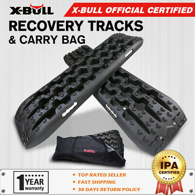 AU89.90 • Buy X-BULL Recovery Tracks Gen3.0 Sand Snow Grass Truck 4WD Accessories 1Pair Black