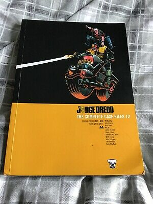 Judge Dredd: V. 12: Complete Case Files By Alan Grant, John Wagner... • 12.99£