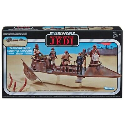 $ CDN46.62 • Buy Star Wars Return Of Jedi The Vintage Collection - Jabba's Tatooine Skiff Vehicle