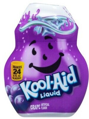 Kool-Aid Grape Flavor Enhancer Liquid Drink Mix 3 Bottle Pack Free Ship • 15.30£