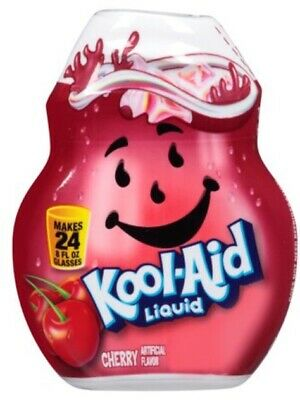Kool-Aid Cherry Flavor Enhancer Liquid Drink Mix 3 Bottle Pack Free Ship • 15.35£