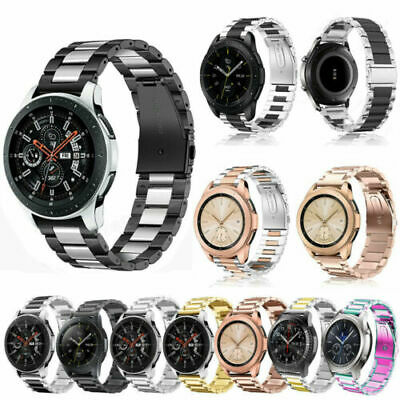AU15.99 • Buy For Samsung Galaxy Watch Active 1 2 40mm 44mm Strap Stainless Steel Watch Band