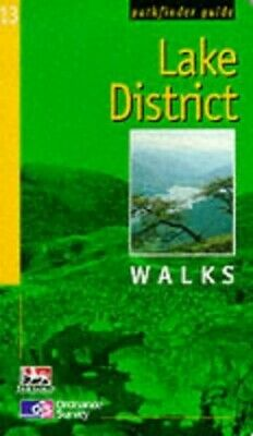 Lake District: Walks (Pathfinder Guide) By Neil Coates Paperback Book The Cheap • 2.99£
