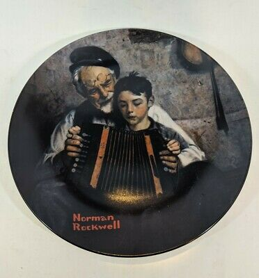 $ CDN37.49 • Buy 1981 Norman Rockwell  The Music Maker   By Edwin Knowles Decorative Plate. New