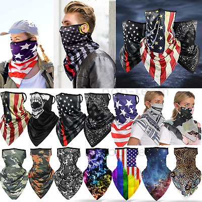 $12.99 • Buy Motorcycle Balaclava Neck Gaiter Tube Bandanas Face Mask Cover Shield Washable