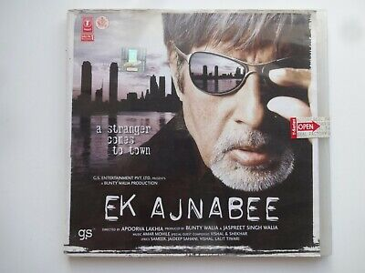 EK AJNABEE ~ Bollywood Soundtrack Hindi CD ~ Amar Mohile ~ 2005 • 4.95£
