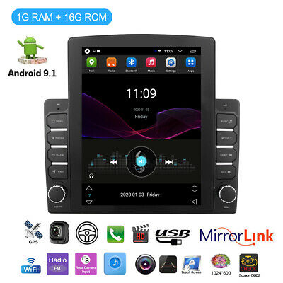 AU213.12 • Buy Universal 9.7  2DIN Android 9.1 Car Stereo Radio GPS MP5 Wifi Bluetooth Hotspot