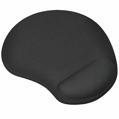 TRIXES Black Mouse Mat/Pad Ergonomic Comfort Computer PC Small  • 4.19£