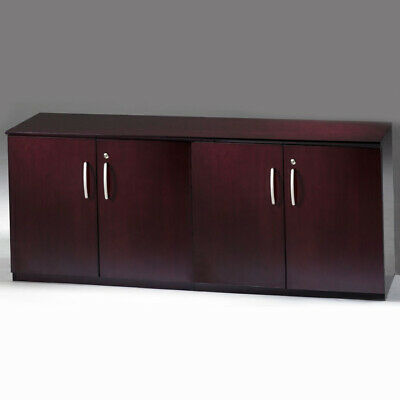 $1550 • Buy Credenza Cabinet, Office Credenza For Conference Room, 3 Wood Finish Options