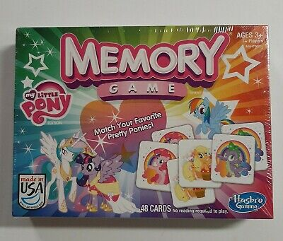 My Little Pony Memory Game 48 Cards; Great Condition!!see Pictures  • 18.36£