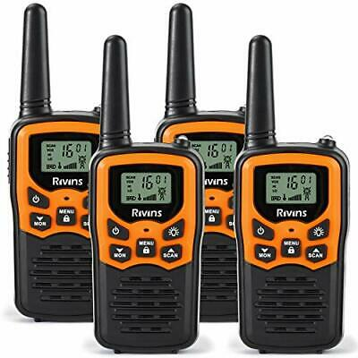 $ CDN74.82 • Buy RV-7 Walkie Talkies For Adults Long Range 4 Pack 2-Way Radios Up To 5 Mil